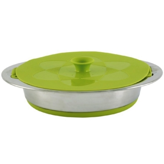 "Кастрюля ""Outwell Collaps Pot w/colander & lid Green"" 4.5л"