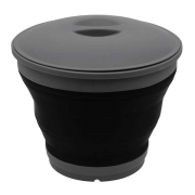 Ведро складное Outwell Collaps Bucket w/lid Black