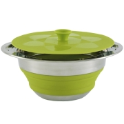 "Кастрюля ""Outwell Collaps Pot w/lid Green"" 2.5л"