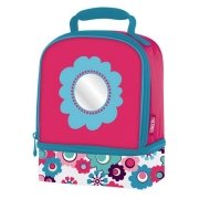 Сумка-термос Thermos Floral Dual Lunch Kit Pink детская 6 л